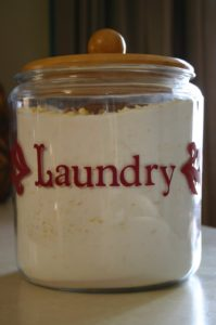 Being Creative's Homeade Laundry Soap